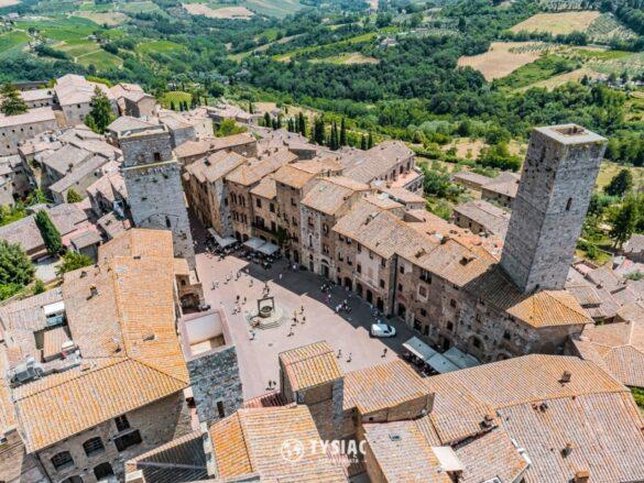 San Gimignano - zwiedzanie Toskanii
