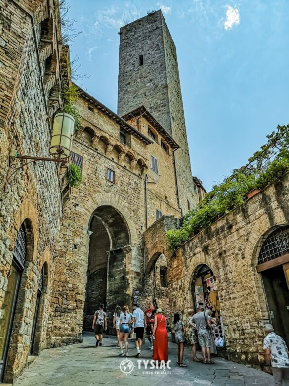 San Gimignano - Toskania