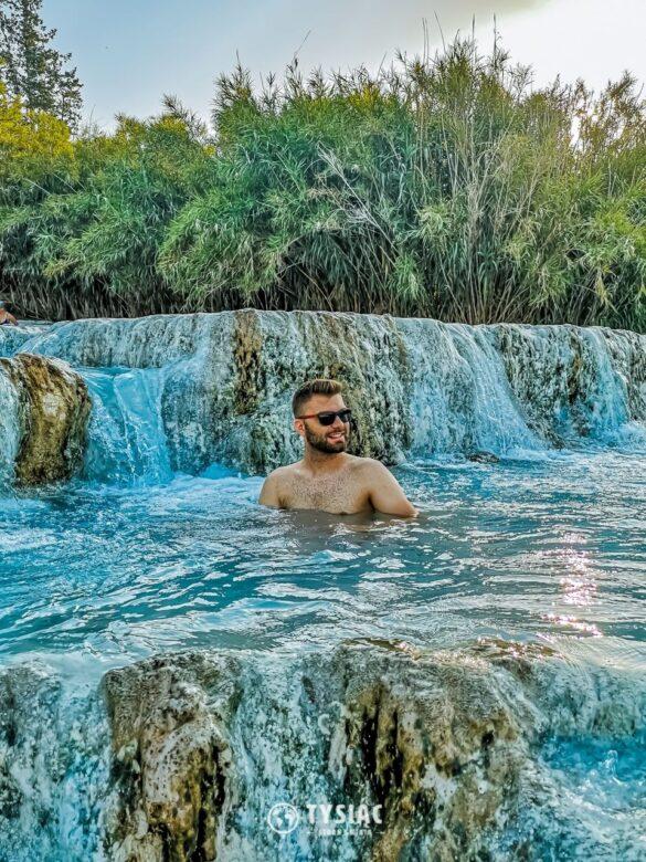Toskania - gorące źródła