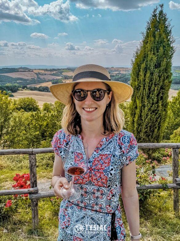 Montepulciano - degustacja wina w Toskanii