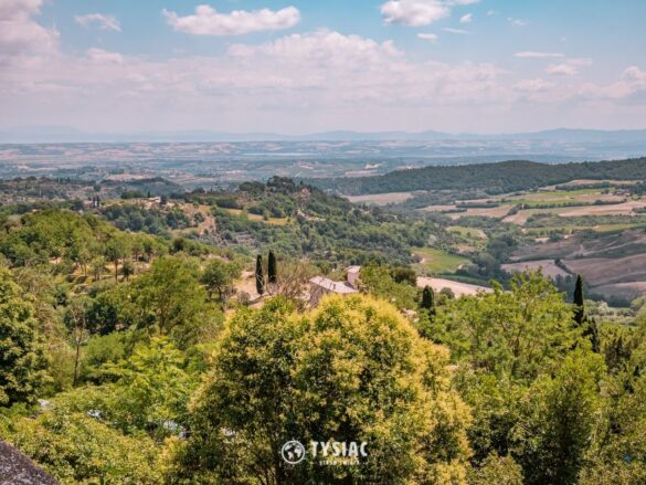 Toskania - krajobraz