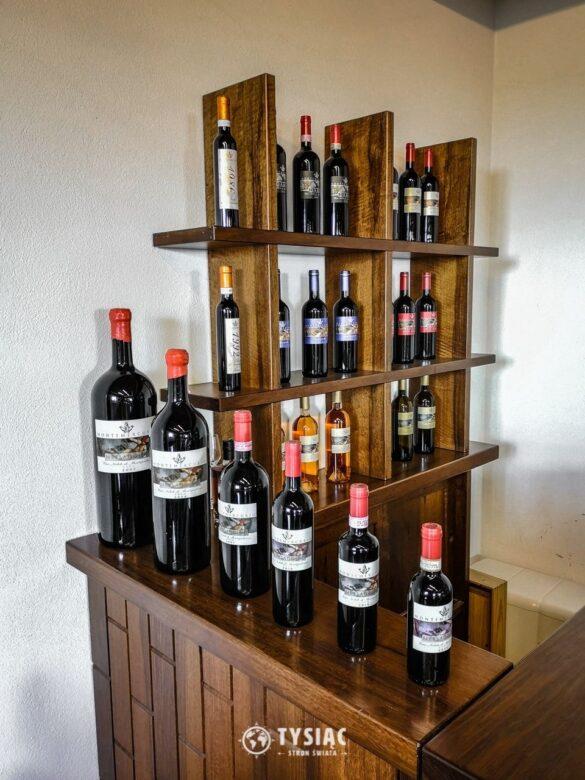 Degustacja wina w Toskanii - Montemercurio