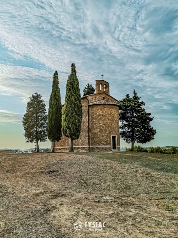 Kaplica Vitaleta - zwiedzanie Toskanii