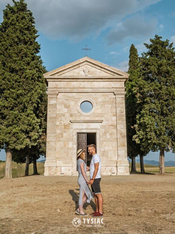 Kaplica Vitaleta - Toskania